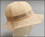 青苧織「帽子」の写真