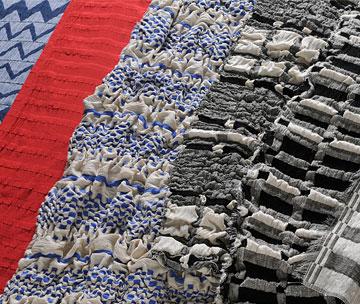 鶴岡シルク布地の写真