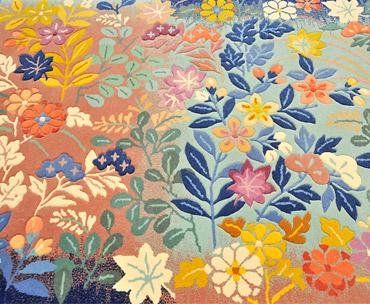 手織り絨毯の写真
