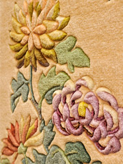 手刺絨毯の写真