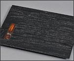 竹塗お盆の写真