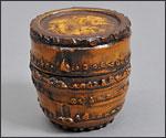 竹塗茶筒の写真