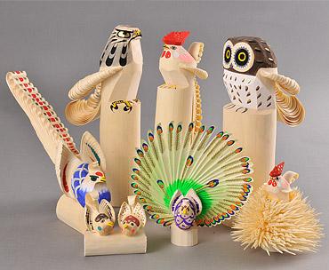 笹野彫の作品写真
