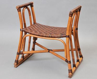 籐椅子の写真