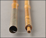 螺旋継ぎ竿の写真