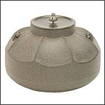 茶の湯釜の写真