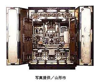 山形仏壇のイメージ写真(写真提供:山形市)