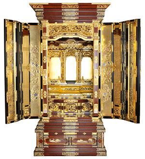 金仏壇の写真