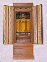仏壇(70代前開 栓)の写真