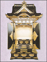 宮殿厨子型仏壇の写真