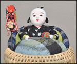 綿いづめこ人形の写真