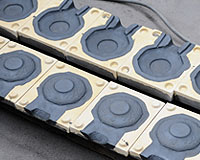 CO2ガス型の鋳型の写真