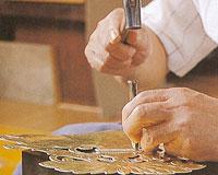 ④かざり金具の写真