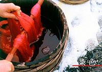 紅花「染色」