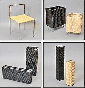 籐製品「ami」シリーズの写真