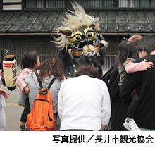 むかで獅子舞の写真