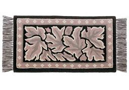 手織緞通の写真
